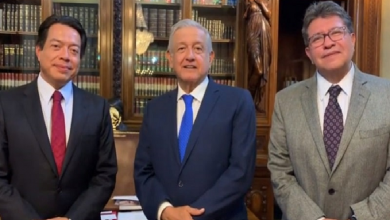 Photo of Se reúnen Monreal y Delgado con AMLO