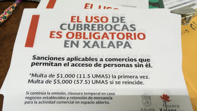 Photo of Distribuyen propaganda sobre sanciones por no usar cubrebocas