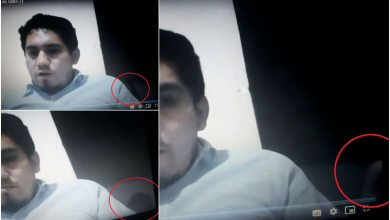 "Photo of Captan supuesto hecho ""paranormal"" en clase virtual #Video"