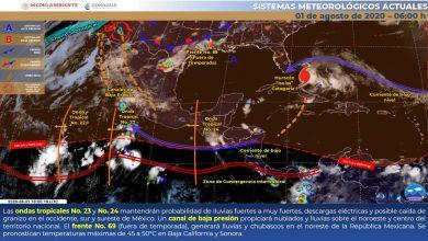 Photo of Advierten lluvias fuertes en Veracruz