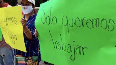 Photo of Comerciantes exigen apertura del parque Juárez ; llevan cuatro meses sin laborar