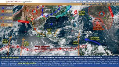 Photo of Canal de baja presión y entrada de humedad favorecerán lluvias en Veracruz
