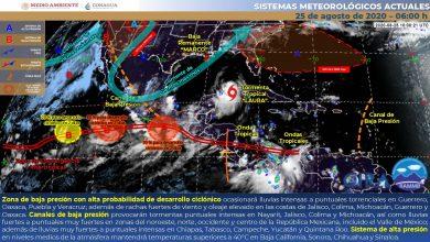 Photo of Advierten lluvias torrenciales en Veracruz