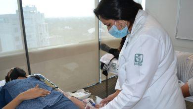Photo of Son pocas las personas que acuden a donar sangre en campañas del IMSS