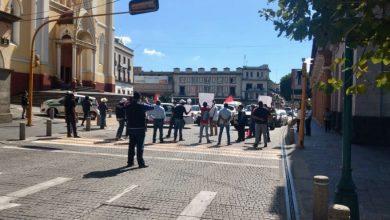 Photo of Denuncia Antorcha Campesina persecución política ; bloquea centro de Xalapa