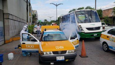 Photo of Continúan acciones de sanitización en unidades del transporte público en Córdoba