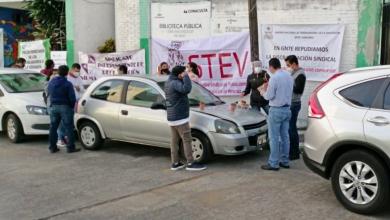 Photo of Protestan sindicatos en Subdirección de Preescolar Estatal