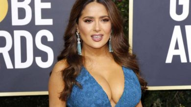 Photo of Salma Hayek fascina en Instagram con increíble bikini rojo