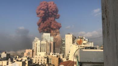 Photo of Se registra fuerte explosión en Beirut