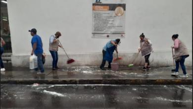 Photo of Jornada de limpieza en el mercado Galeana