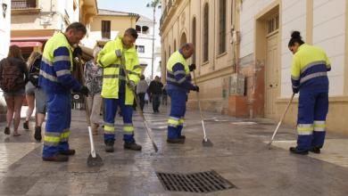 Photo of Trabajadores del IPE se suman a limpieza de la ciudad