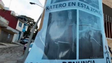 Photo of Colocan fotografías de ladrones en colonias de Xalapa