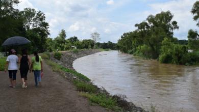 Photo of Río Cazones se encuentra a 40 centímetros de su nivel de desbordamiento, Poza Rica