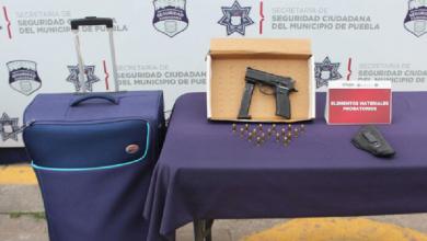 Photo of Detienen a cuatro hombres por portar arma sin permiso en Puebla