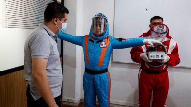 Photo of Empresa mexicana se inspira en Star Trek para crear traje inflable contra covid-19
