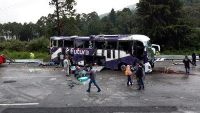 Photo of Volcadura de camión de pasajeros deja 13 muertos en la México-Toluca