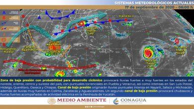 Photo of Lluvias torrenciales, viento del norte y posibles granizadas en Veracruz
