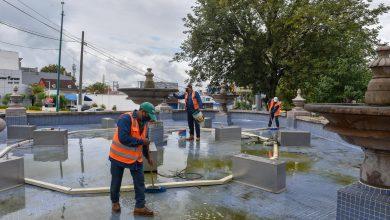 Photo of Continúan trabajos de mejoramiento de la imagen urbana