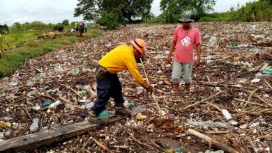Photo of Retiran 30 toneladas de palizada y 1.4 de PET en el río Blanco