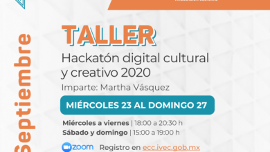 Photo of Inicia Hackatón Digital Cultural y Creativo en el marco del MECCVER 2020