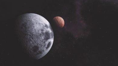 Photo of Marte y la Luna 'se besarán' en una deslumbrante noche de sábado