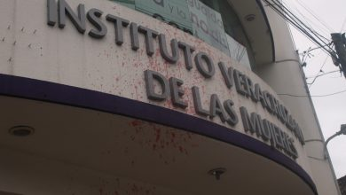 Photo of Vandalizan oficinas del IVM en Xalapa