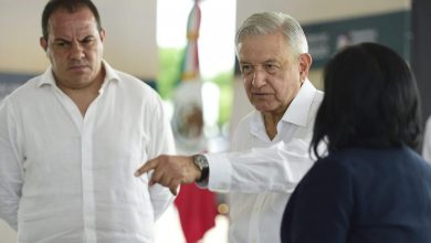 Photo of AMLO respalda en todo a Cuauhtémoc Blanco
