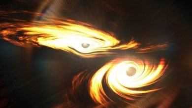 Photo of Insólita colisión de dos agujeros negros
