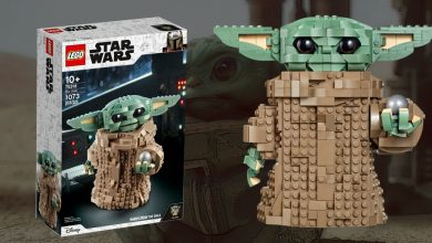 Photo of Lego lanza set de Baby Yoda, de Star Wars: The Mandalorian