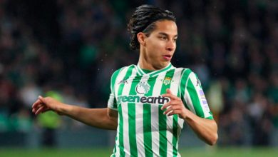 Photo of Diego Lainez, baja del Betis contra el Real Madrid por un problema estomacal