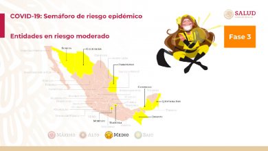 Photo of México avanza con ocho estados en semáforo amarillo