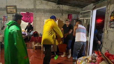 Photo of Lluvias causan afectaciones en Fortín, autoridades atienden a familias afectadas