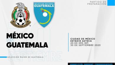 Photo of Guatemala remplaza a Costa Rica en el partido amistoso contra México