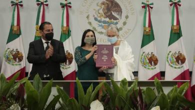 Photo of Entrega Sánchez Cordero Segundo Informe de Gobierno en San Lázaro