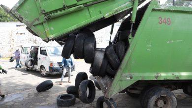 """Photo of Con primeras 10 toneladas de neumáticos para reciclaje, arranca SEDEMA """"Llantatón 2020"""""""