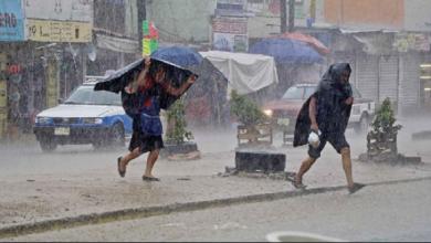 Photo of Lluvias de esta semana podrían representar riesgo para la población