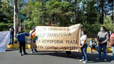 Photo of Comunidad LGBTTI se manifiesta en el MIX