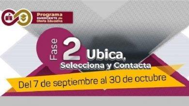 Photo of Oferta SEV vacantes para Educación Media Superior y Superior, a través de plataforma PEOE