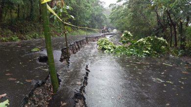 Photo of A punto de desbordarse el río en Misantla