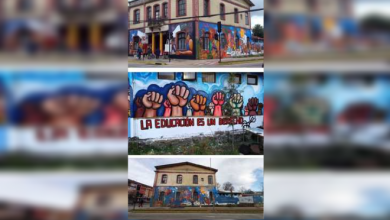 Photo of Destruyen mural de mexicano en Chile