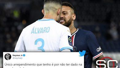 "Photo of ""Le pegué por racista""; Neymar tras ser expulsado"