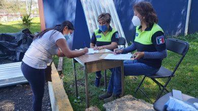 Photo of Entrega Protección Civil apoyos a familias afectadas por lluvias