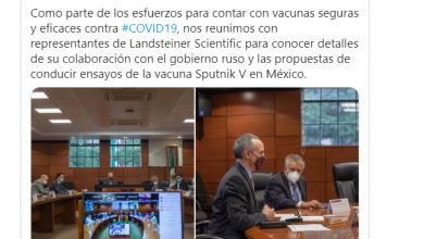Photo of Gatell anuncia la venida a México de Sputnik V, la vacuna rusa contra Covid-19