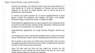 Photo of El hijo de «chespirito», Roberto Gómez Fernández, deja Televisa