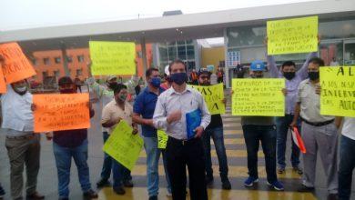Photo of Trabajadores despedidos de TAMSA se manifiestan frente a la factoría