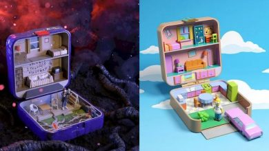 Photo of Recrean casas de Los Simpsons y Stranger Things en Polly Pocket