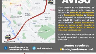 Photo of Cerrado Circuito Presidentes por Jornada de Sanitización
