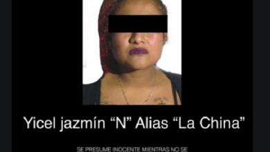 Photo of En operativo cae jefa de plaza de CJNG dedicada a la extorsión y narcotrafico