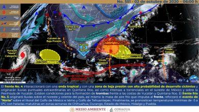 Photo of Nublados, lluvias y evento de «Norte» en el centro y sur de Veracruz