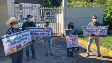 """Photo of Pobladores de Coatepec exigen restitución de tierras en """"Sierra Alta"""""""